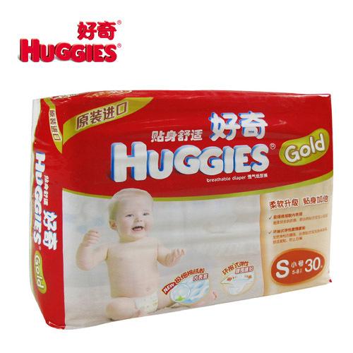 HUGGIES 好奇 金裝超柔貼身 S30片