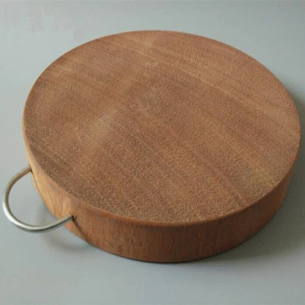 实木砧板 正宗越南铁木砧板 实木菜板 圆形双面抗菌方形 整块无漆满23.00元可用1元优惠券