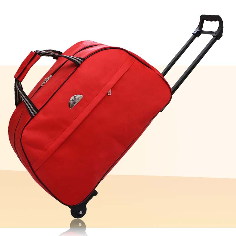 Bag, mail, hand-held waterproof trolley bag, large capacity, compressible, suitable for men and women, boarding travel bag, luggage bag
