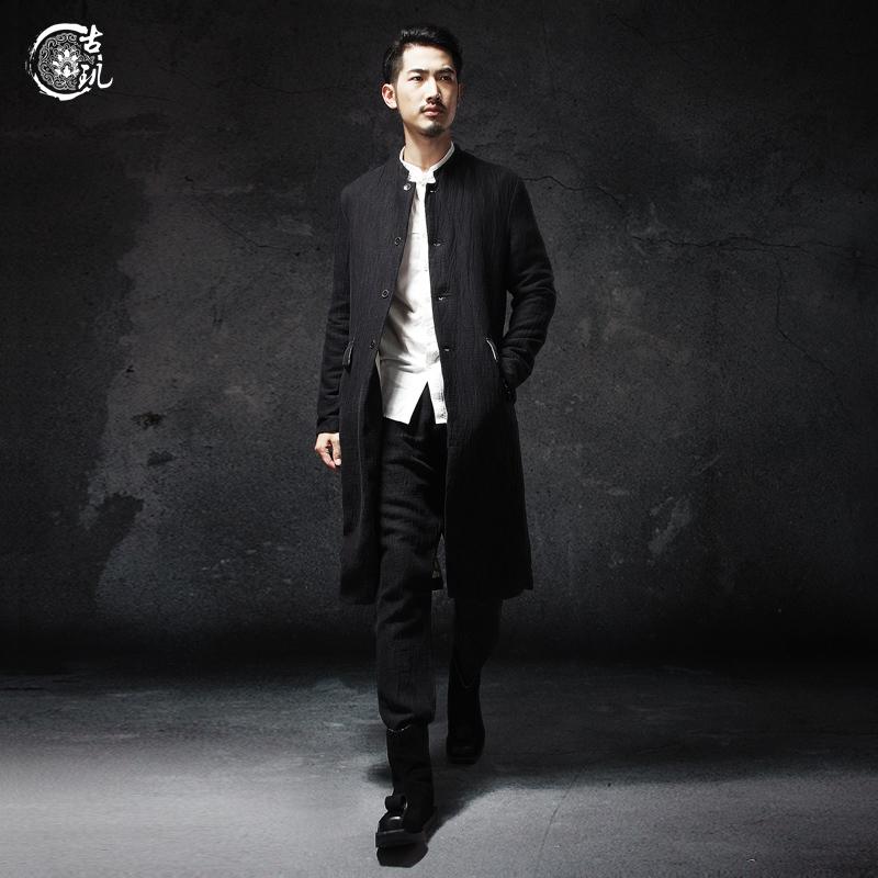 古璣中國風中式立領風衣