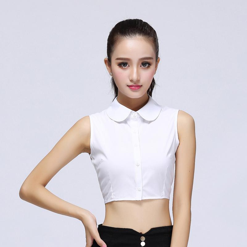 Корейский кукла поддельные воротник ребенок дикий корея рубашка поддельные воротник черно-белые цвета шифон осенью и зимой литература и искусство ложный воротник