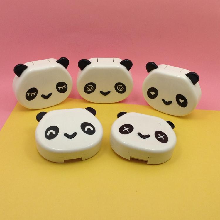 Подлинный чистый достигать хитрость очки спутник коробка прекрасный зрачок специальный медсестра коробка двойной коробка чистый белый панда