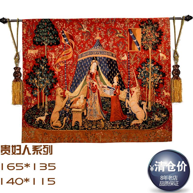 Континентальный цифры Бельгии жизни гобелен декоративной живописи shangya искусства дома драпировки Дамы Подарки