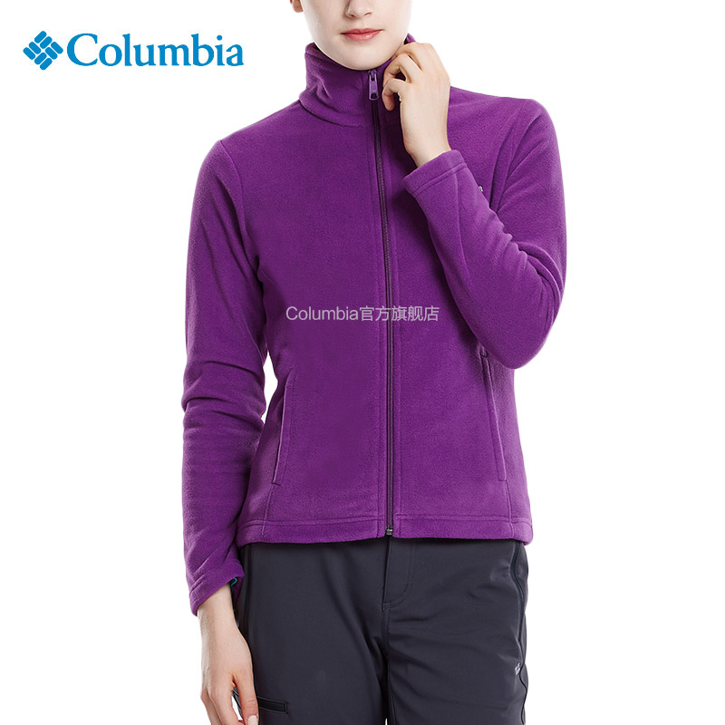 ~ 款~Columbia 哥倫比亞戶外女 修身立領抓絨衣AR6509