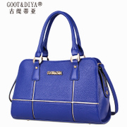 Leather woman handbags fall/winter new 2015 the first layer of leather fashion brand simple and versatile portable shoulder bag