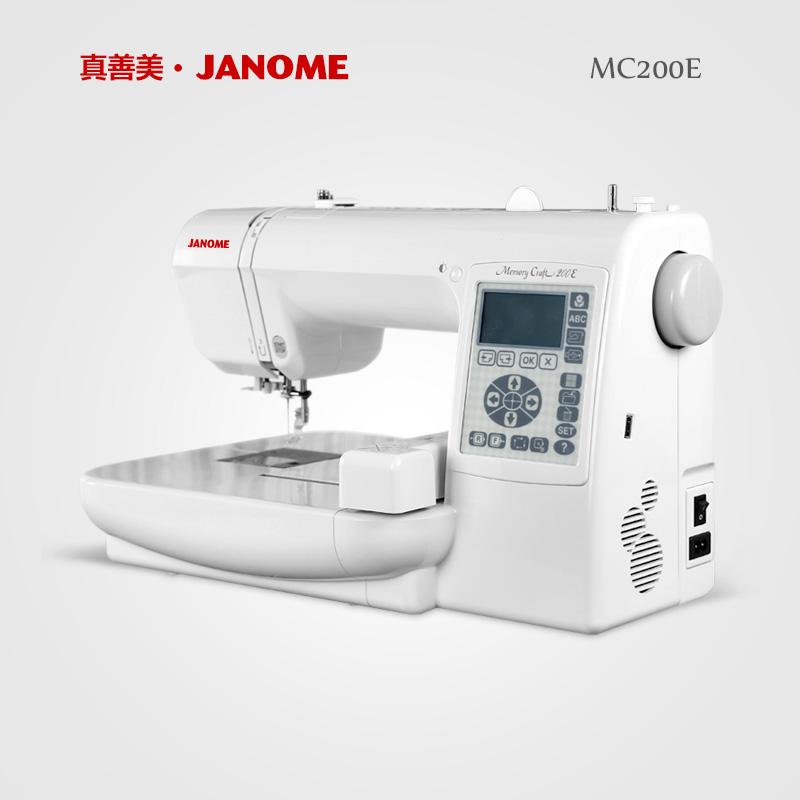 Janome япония действительно хорошо прекрасный бытовой электрический шаг вышитый машинально MC200E