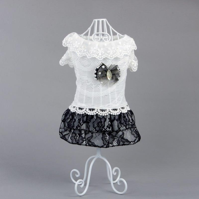 泰迪狗狗衣服春夏 寵物服飾 貴賓博美比熊犬貓咪小狗的連衣裙