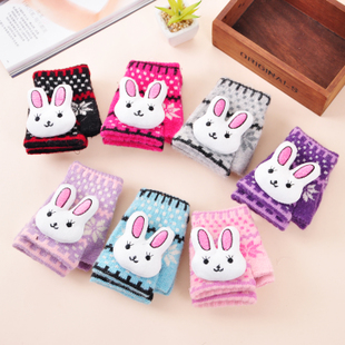 Gloves Korean fashion cute buck a finger gloves computer gloves wholesale factory direct