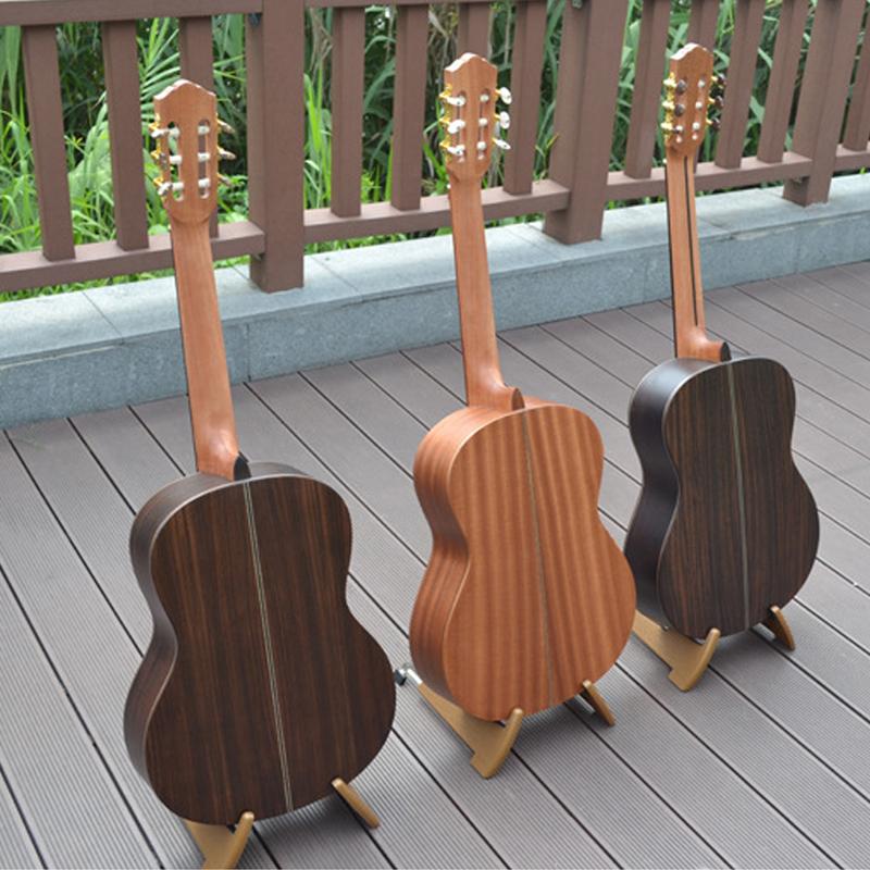 全单板吉他 39寸手工古典吉他全单电箱高品质吉它正品西洋乐器