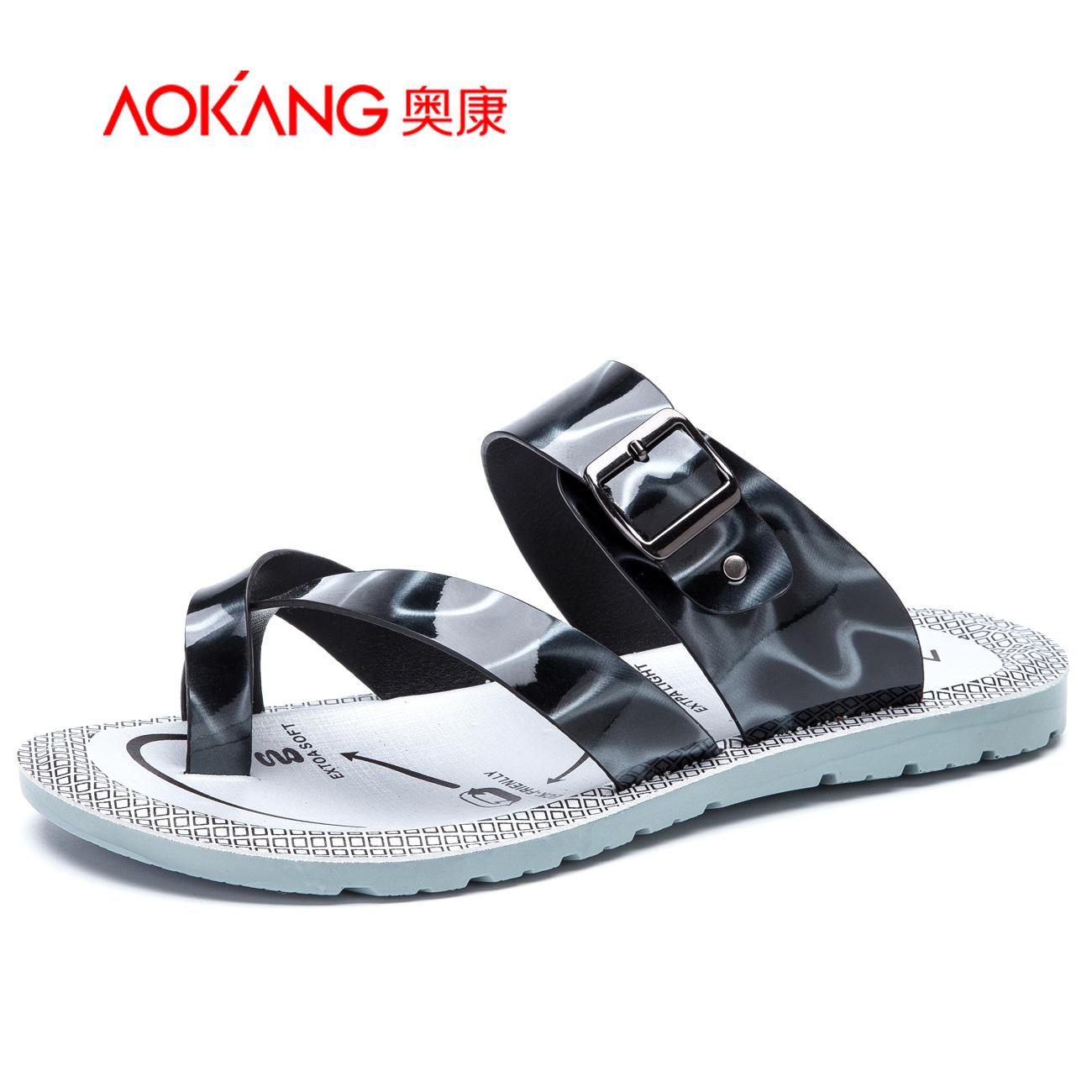 Заумный мир мужская обувь новый случайный мужской клип носок шлепанцы зеркало материал воздухопроницаемый сандалии мужской прохладно торможение