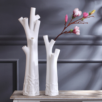 Creative Modern simple decoration decoration home decoration fashion floor living room ceramic large vase flower device