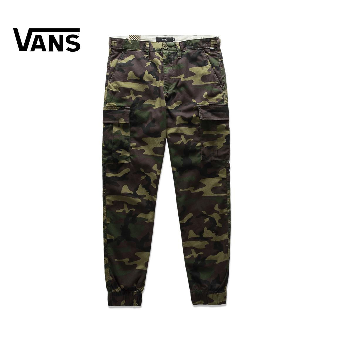 Vans/ модель этот осень камуфляж печать / мужской тканый брюки |VN0A36LNCMA