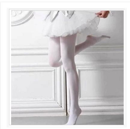 Выступление балета белый Колготки чулки исполнения танцевальные чулки лебединые танцы