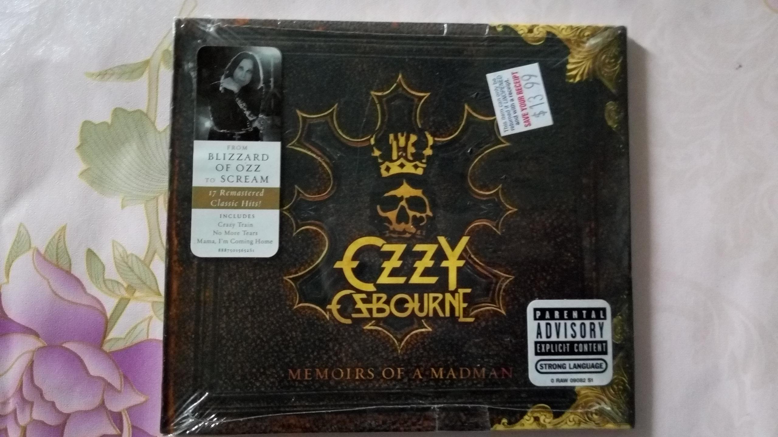 Прекрасный не открывается Memoirs of a Madman Ozzy Osbourne металл мастер заумный при этом