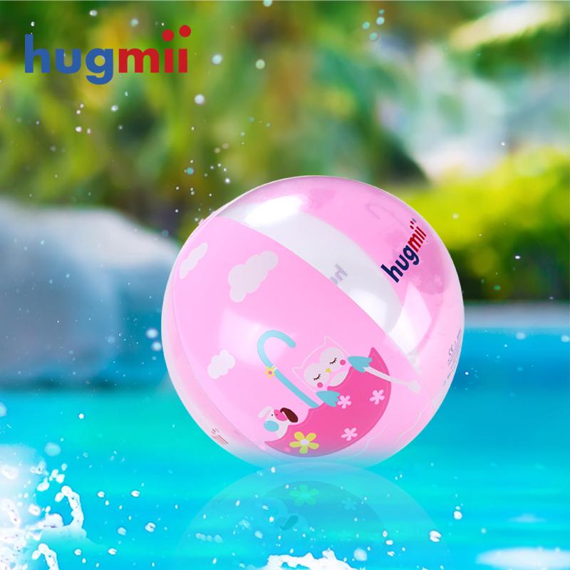 Hugmii ребенок пляжный мяч водный газированный игрушка мяч пляж мяч водное поло морской мяч плавательный бассейн игрушка мяч