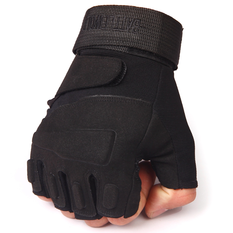 Special forces tactical anti-skid wear-resistant Half Finger Gloves mens fighting outdoor sports riding mountaineering with bare fingers in spring and summer
