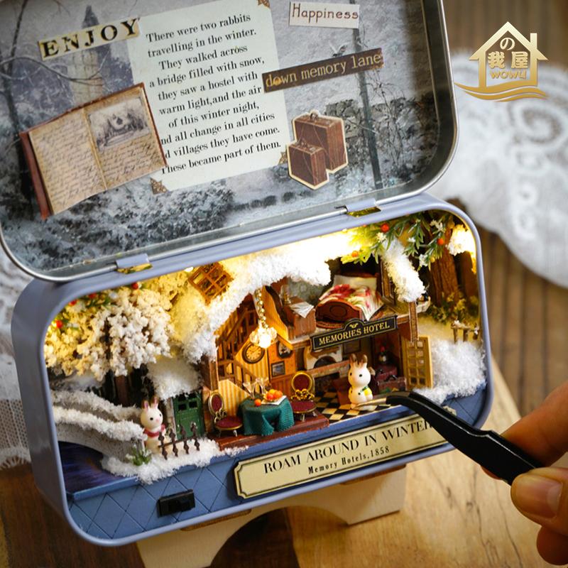 Творческие DIY небольшие подарки на подруг Рождественский подарок на день рождения подруга девушка мальчиков рождественском и практические
