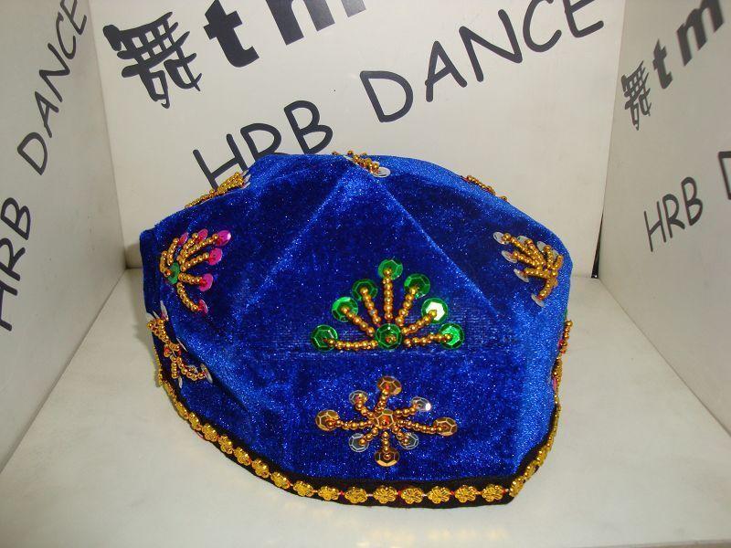 Мужской ребенок новый Xinjiang Hat / новый Синьцзянские танцы / танцевальные реквизиты / национальные реквизиты / танцевальные костюмы