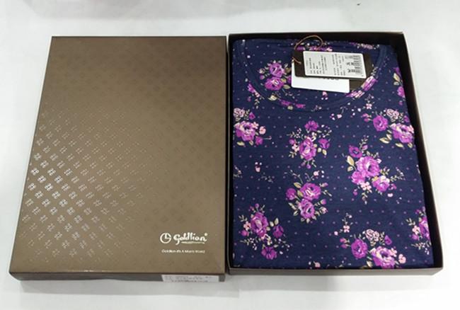 包邮金利来女士保暖内衣套装G8N0085女莫代尔薄款保暖衣秋衣礼盒