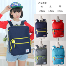 Website South Korea ulzzang fashion shoulders the original SuChao small pure and fresh and soft sister Japanese philosophy of student backpack