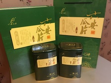Is rhyme tea green tea fresh tea luan GuaPian 2015 super remarkably tea zhuang 300 grams of high-grade gift box packaging