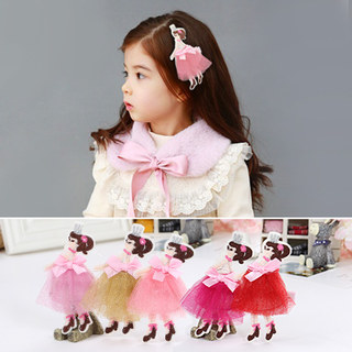 Crown Princess dreams know NI children''s hair accessories hair clip hairpin Ballet skirt girl bangs Chuck accessories
