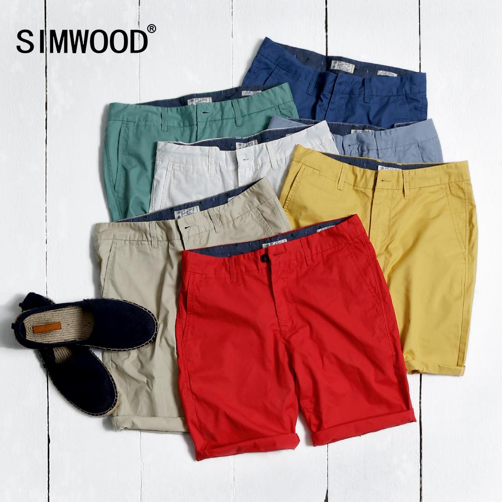 simwood 簡約男士純色 短褲