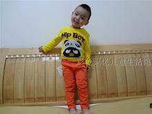 Children's clothing han edition leisure 15 children in the spring and autumn period and the new boy's trousers made of pure cotton trousers color jeans tide