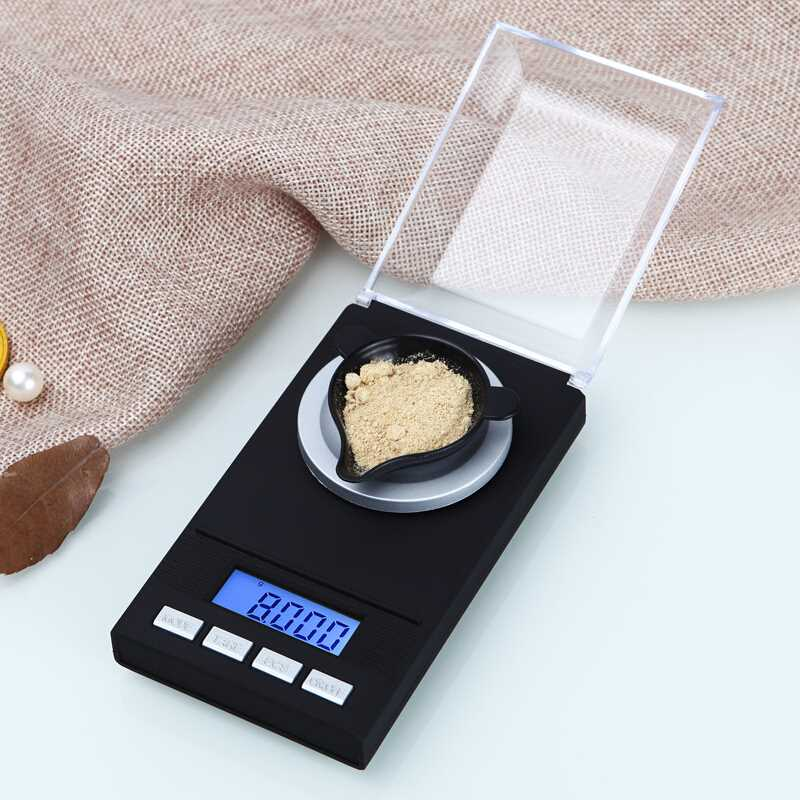 长协电子CHANGXIE 迷你克称重珠宝秤0.001g黄金天平微型电子秤家