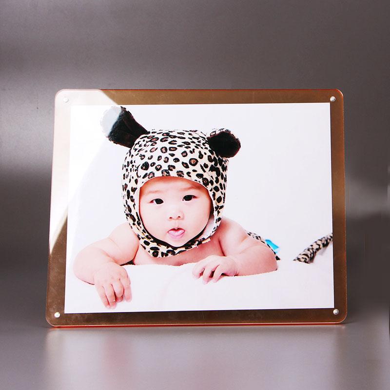 亞克力相框 水晶相框擺台 10寸 6 7 8歐式相框照片框