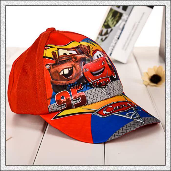 Дисней автомобилей мальчиков 95 мультфильм ребенок шляпа Бейсболка Кап 3-10
