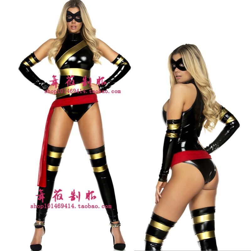 2016万圣节聚会出口制服金刚英雄服装 角色扮演超人装连体