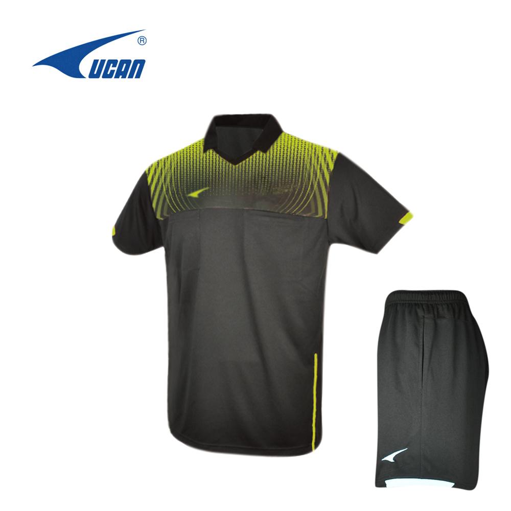 UCAN / Rec купить футбол рефери носить пот воздухопроницаемый Униформа KC3405 / KD3405