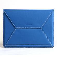 [manufacturers custom] PU + imitation leather cloth with soft nap tablet carrying case, gift K8609U (9.7)
