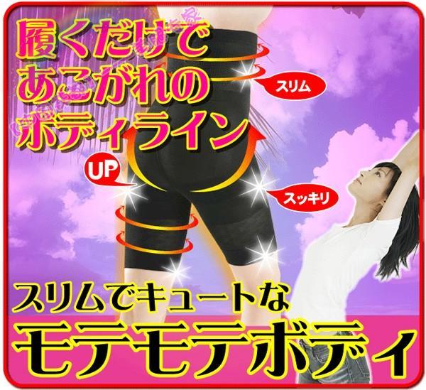 日本Germa Slim Body微元素超紧高腰收腹大腿提臀水肿580D压力裤