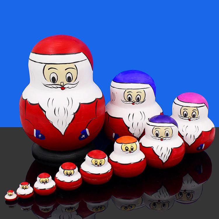Россия крышка ребенок десять слоёв подлинный 10 слой ребенок головоломка игрушка день рождения подарок ручной работы искусство статья американская липа 0708