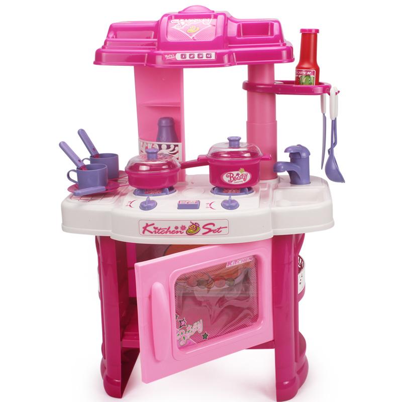 Образовательные игрушки играть посуда столовые приборы кухни Workbench игрушка моделирования весело игрушки