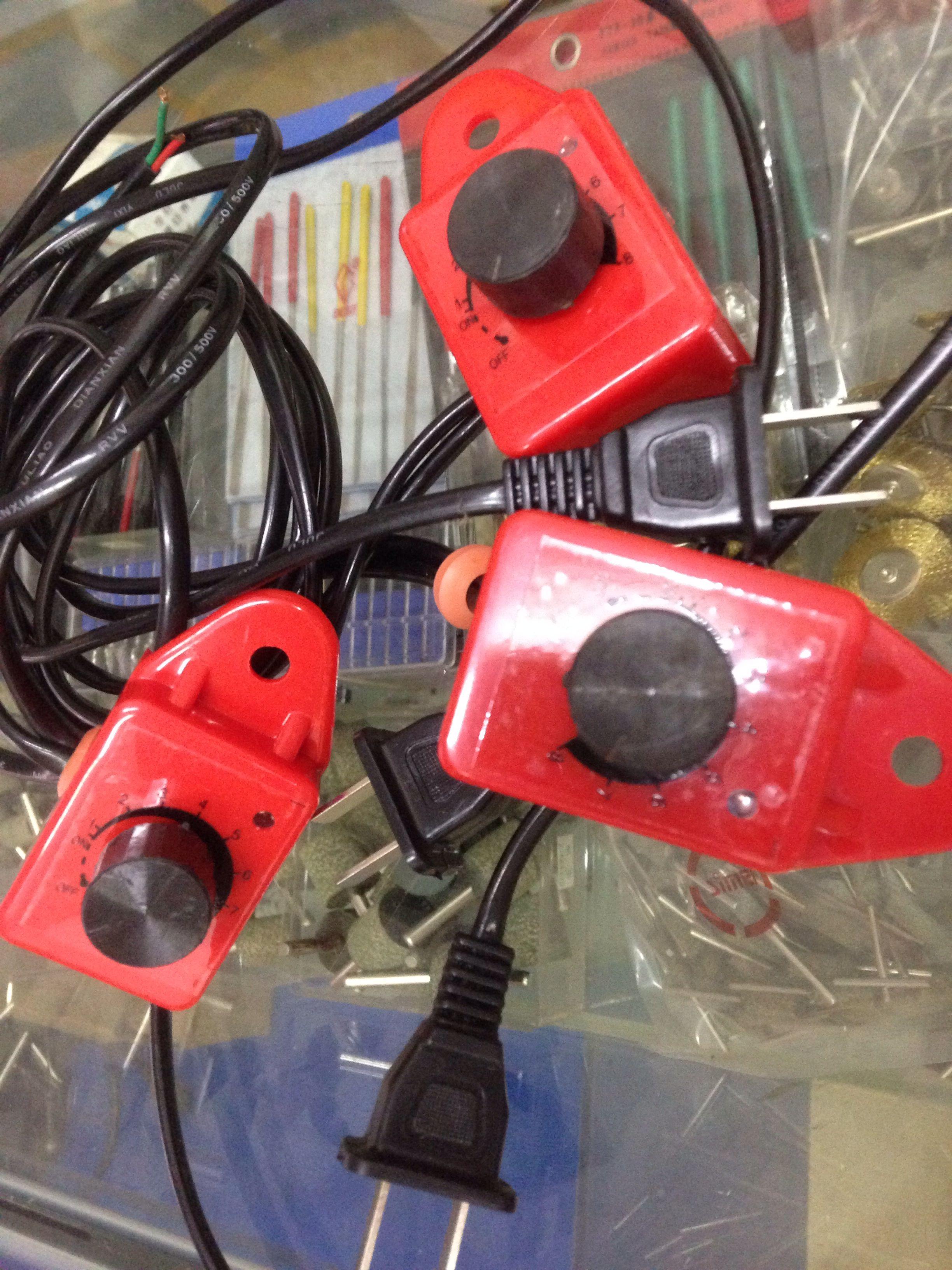 安利848红色微型钻床配件开关插头小台钻调速器台钻配件调速开关
