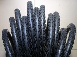 26寸山地车实心胎自行车轮胎免充气三轮车胎24/26*1.95/2.125/1.5图片