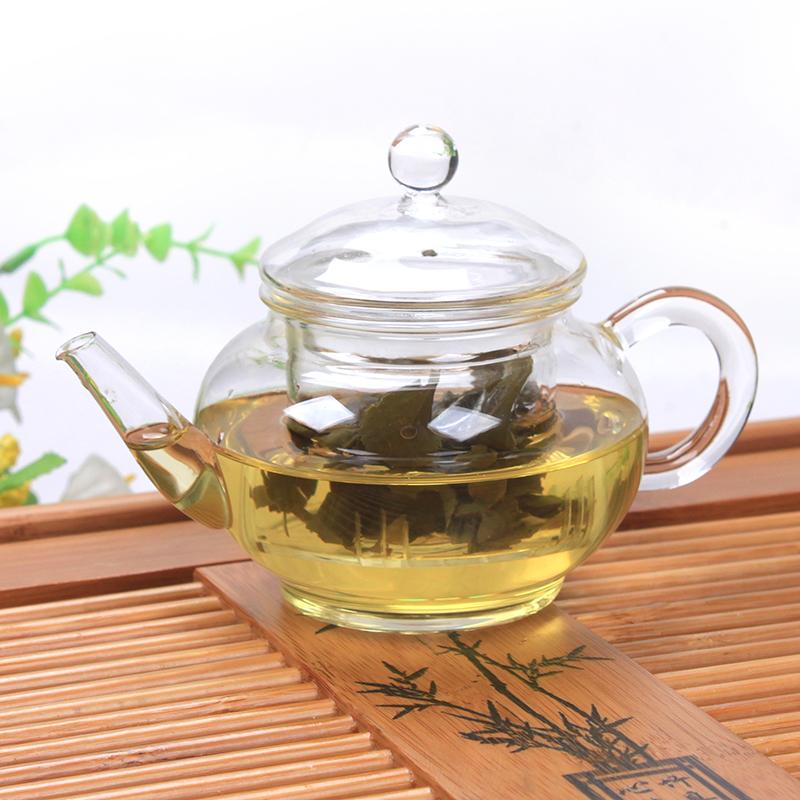 透明耐熱玻璃泡茶壺花茶壺帶過濾內膽不繡鋼紅茶綠茶衝茶器飄逸杯