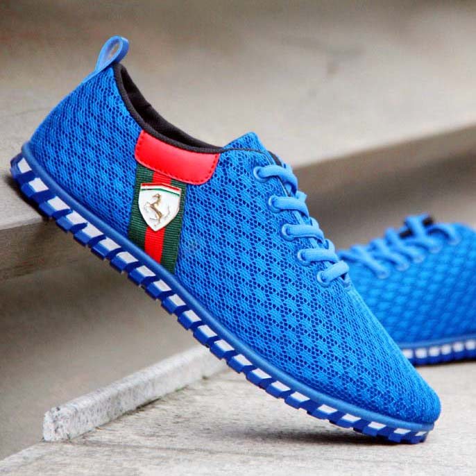 Мужская воздухопроницаемой сеткой летние Ботинки мужские Обувь кроссовки Мужская спортивная обувь корейской версии текущей сетки старые Пекине ткань обувь