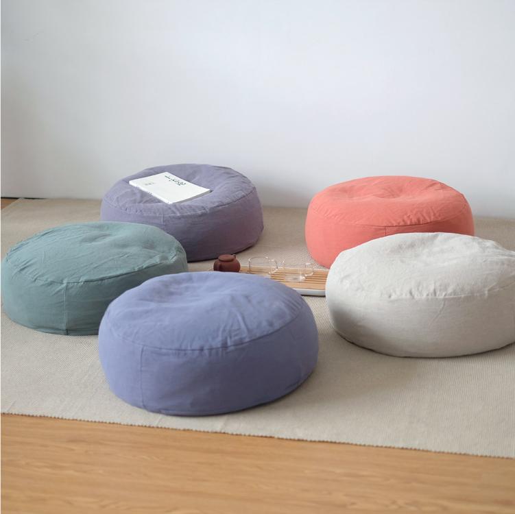Оригинальный японский стиль хлопок Джазовый диван простой тканевый татами-футон утепленный Для того, чтобы смягчать панель Sit пирс