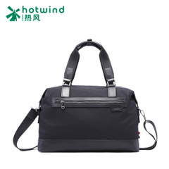 Hot-air one-shoulder man bag new casual fashion for men spring autumn and winter Nylon with leather handbag 50W4902