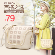 ZYA fall/winter fashion handbags bag 2015 new wave Korean fashion single shoulder bag retro small square bag