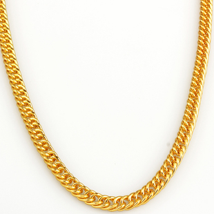 Full 75 yuan explosion models chain length 90CM thick 4MMHIPHOP hip hop necklace chain Yi Gu chain close