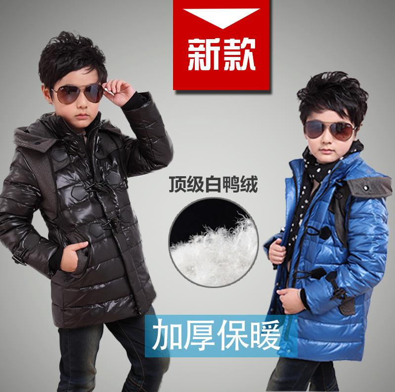 Новых детей к 2015 году мальчик baby вниз куртка зимняя мальчиков теплая куртка пуховик