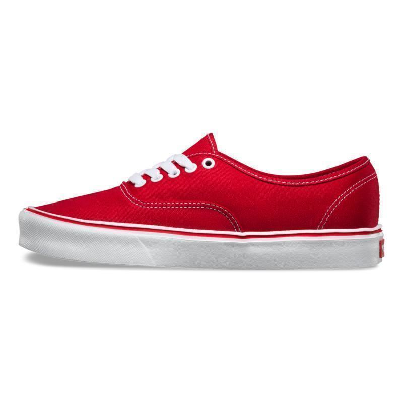 vans /范斯低帮鞋系带红系列帆布鞋829.00元包邮