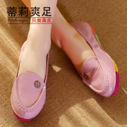 Spring 2015 new light flat shoes round sweet beauty flat-bottom leather shoes slip plus size shoes