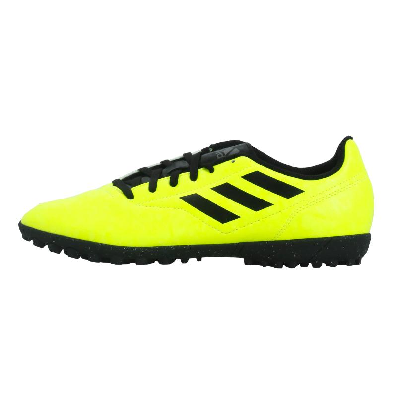 正品Adidas 阿迪達斯 TF 男子入門基礎款人造草地訓練碎釘足球鞋