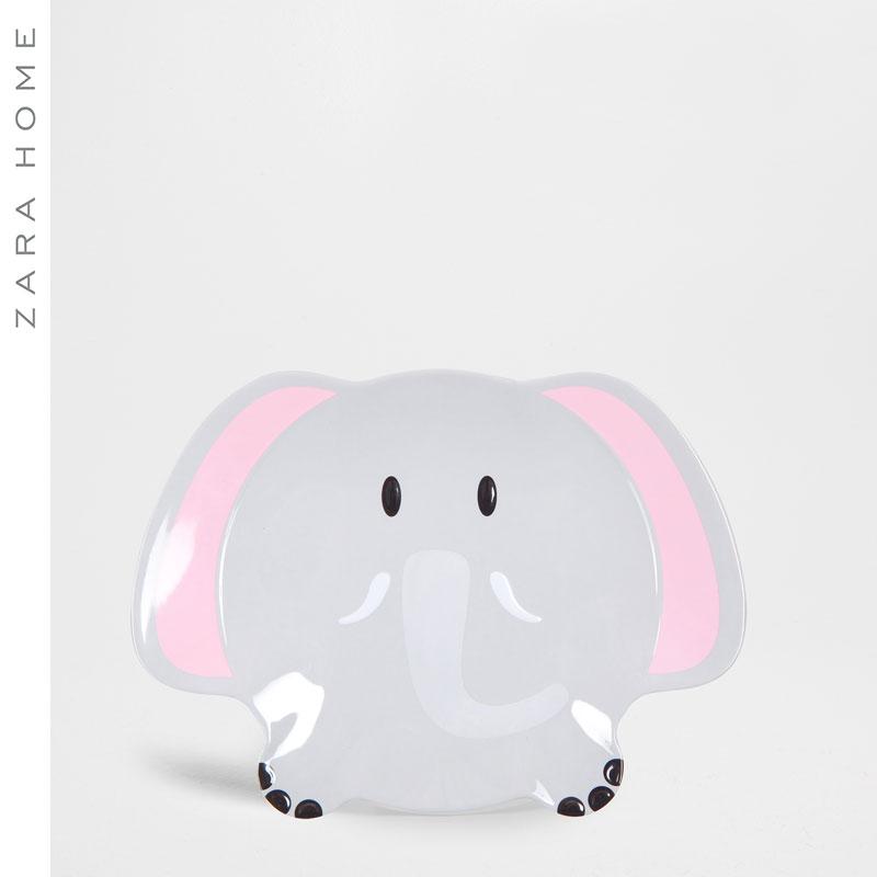 Zara Home ребенок слон шаблон пластина 44236202802